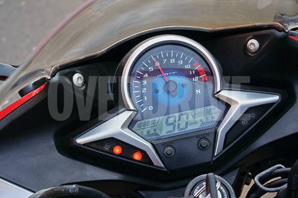 2013 Honda CBR250R | Top Speed. » Clear Ana Digi Clocks Can Feel A Bit Cost  Conscious Though. Itu0027s Great Out