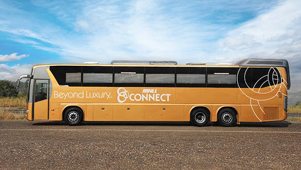 Scania-SVLL launch 7-star luxury buses with recliner seats, LCD TVs and cabin crew