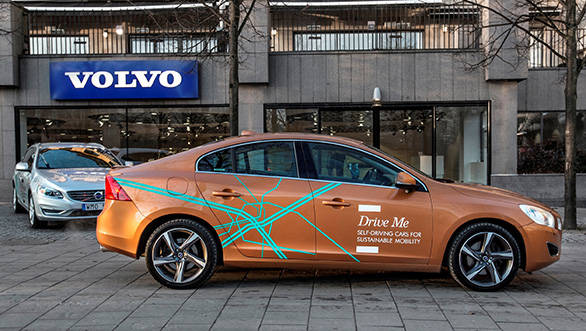 Volvo to start testing autonomous driving cars on Sweden ...