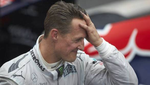 F1: Schumacher showing signs of awakening