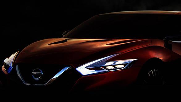 2014 Nissan Sport Sedan concept teaser
