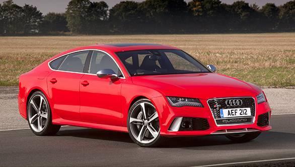 2014 Audi RS 7 sportback photo gallery