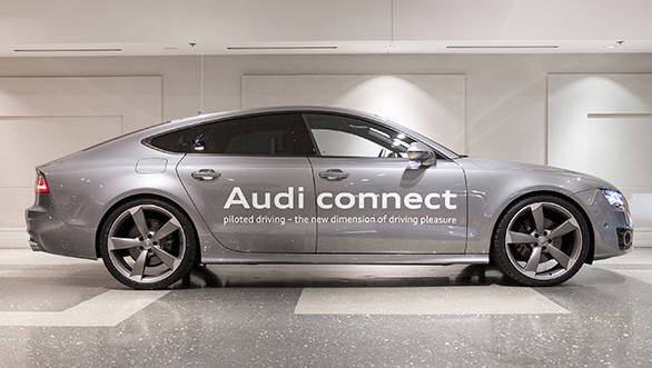 Audi Showcases Selfdriving Car At CES Overdrive - Audi self driving car