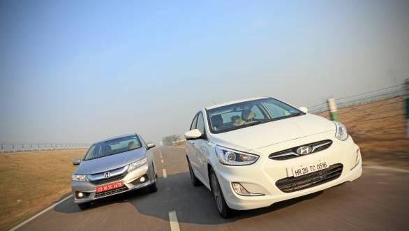 2014 Honda City diesel vs Hyundai Verna diesel