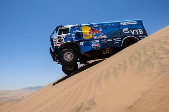 Eduard Nikolaev will be looking to take his Kamaz to victory in the truck class for a second year running