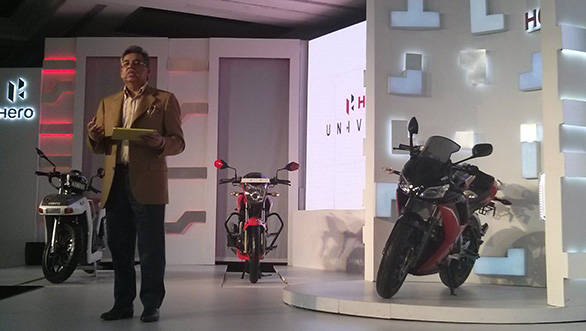 Hero MotorCorp unveils the HX250R in India