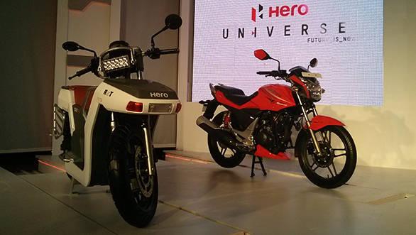 Hero RNT concept unveil: Diesel hybrid bike's images, details and specs