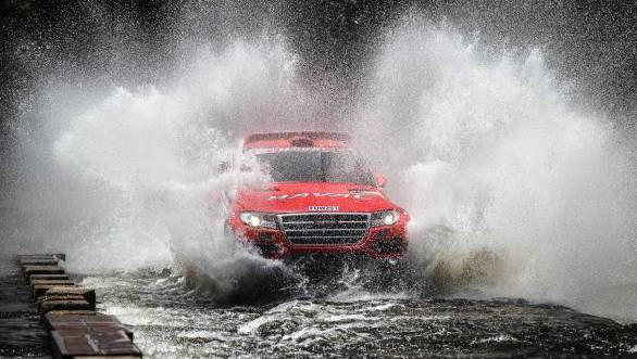 Surprise leader at the end of Day 1 - Carlos Sousa in the Haval