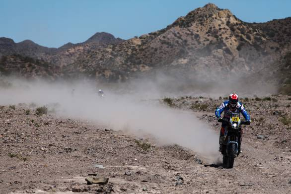Juan Pedrero Garcia won the fourth stage in the motorcycle class, proving to be something of a surprise winner