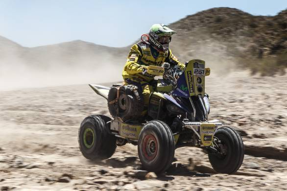 Ignacio Casale leads the quad category after four stages