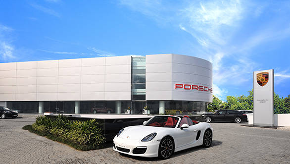 Porsche-Centre-Gurgaon-Exterior