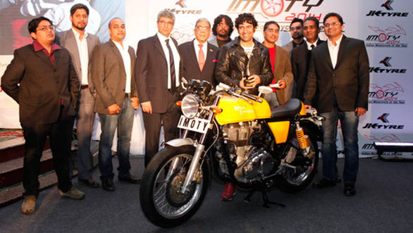 Royal Enfield Continental GT in Candy yellow colour