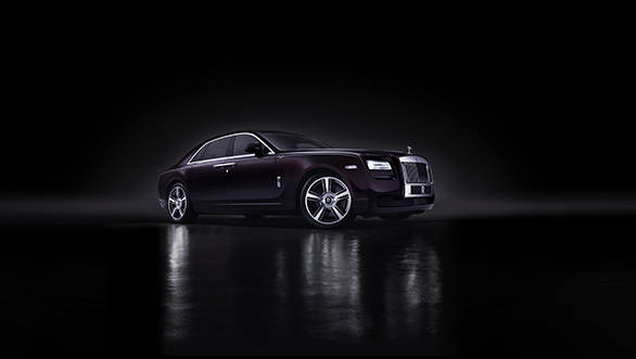 2014 Rolls-Royce Ghost V-Specification in images