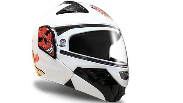 Steelbird MTV Zorro helmet