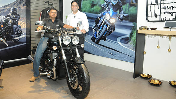 Triumph Motorcycles' first Indian dealership opens in Bangalore