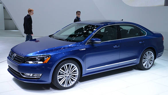 Volkswagen Passat BlueMotion Concept debuts at Detroit 2014