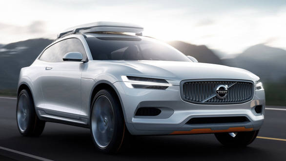 Volvo Concept XC Coupe image gallery