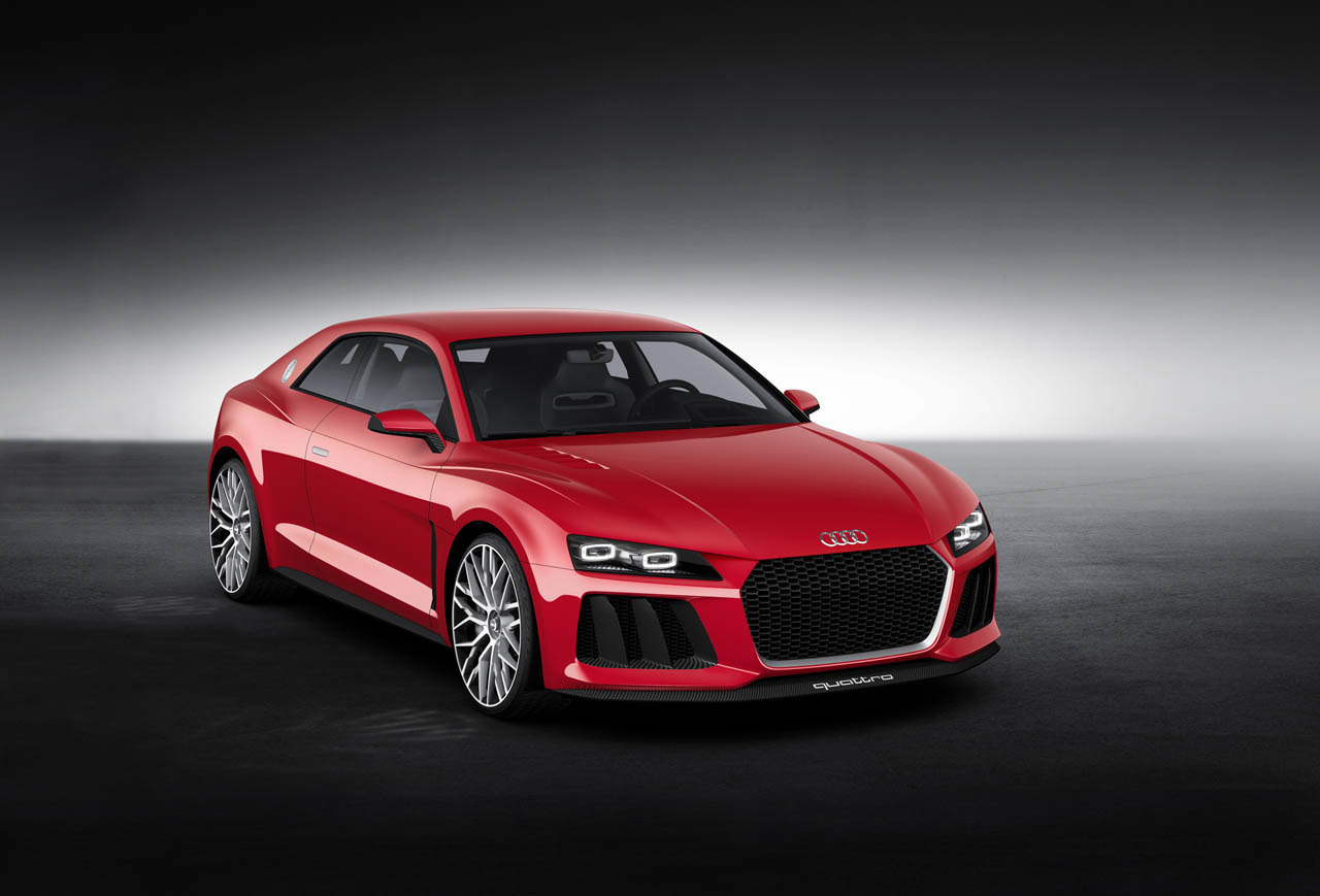 The Audi Sport Quattro Laserlight concept