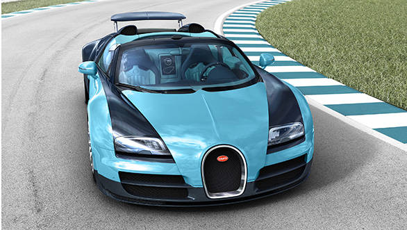 Only 50 more Bugatti Veyron Grand Sport Vitesse Jean Pierre Wimille Edition cars are left