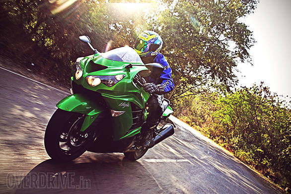 2014 Kawasaki ZX-14R India first ride - Overdrive