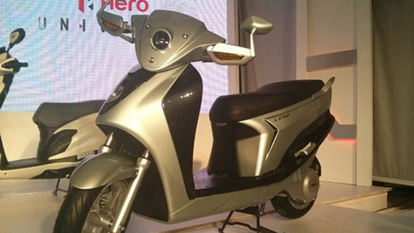 Hero unveils the Leap: India's first hybrid scooter ready for production