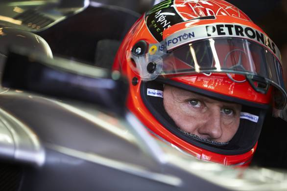 Schumacher being brought out of induced coma