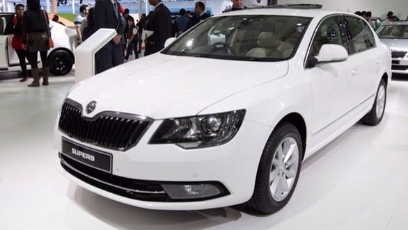2014 Skoda Superb facelift