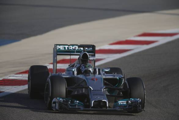 Mercedes have successfully completed two race simulations in the pre-season tests