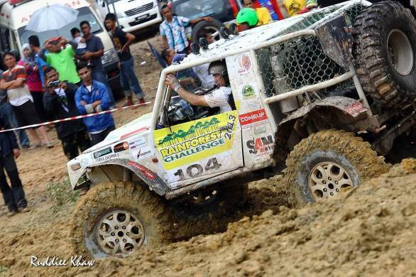 A scene from Rainforest Challenge 2013