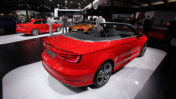 Auto Expo 2014: Audi A3 Cabriolet unveiled in India