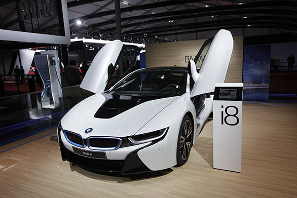 Auto Expo 2014 Bmw I8 Image Gallery Overdrive
