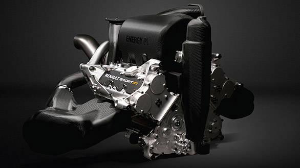 1.6-litre V6 turbo - the new direction in Formula 1