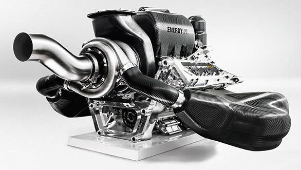 1.6 litres, V6 turbo engine for 2014 Formula 1 race cars
