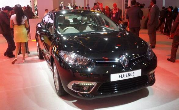Renault Fluence facelift launched at Rs 14.22 lakh during 2014 Auto Expo