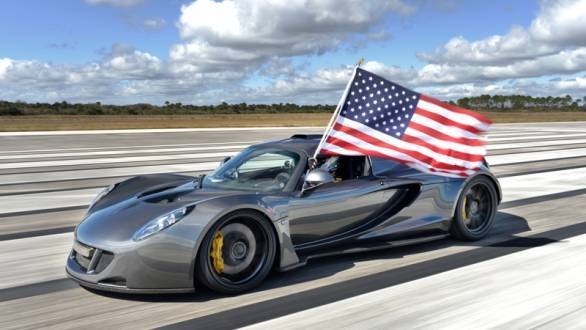 Hennessey Venom GT is the world's fastest production car at 435.31kmph