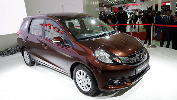 2014 Honda Mobilio Launched In India At Rs 6 49 Lakh Overdrive
