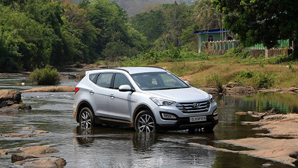 2014 Hyundai Santa Fe India first drive