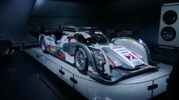 2014 Auto Expo: Le Mans winning Audi R18 eTron showcased
