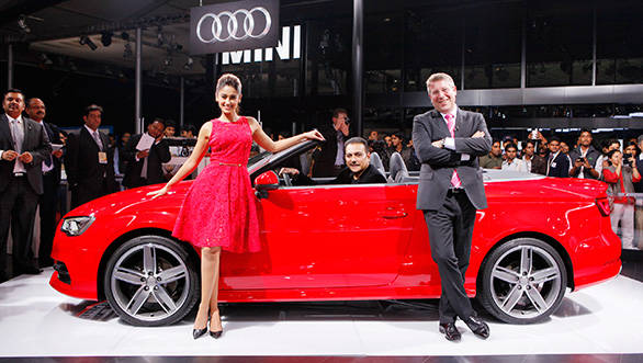 Audi A3 Cabriolet to be launched in India today