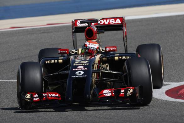 Lotus has managed to do decent test runs compared to other Renault powered cars after they missed the Jerez test