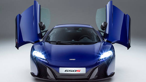 2015 McLaren 650S unveiled ahead of Geneva debut