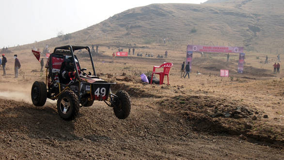 Team GS Racers from Indore win Baja SAE India 2014