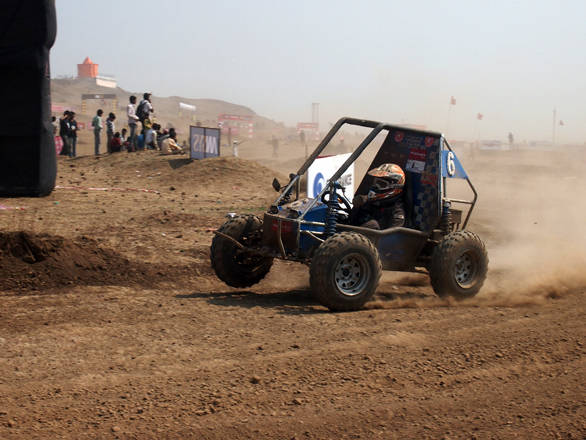Team GS Racers from  Sri Govindram Siksaria Institute of Technology and Science, Indore