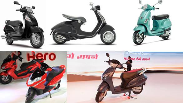 Spec comparison: Honda Activa 125 vs Hero Dare vs Vespa VX vs Vespa 946 vs Suzuki Access