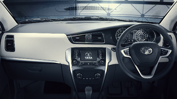 Harman infotainment system in the Tata Zest