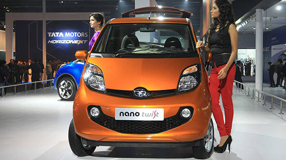 Auto Expo 2014: Tata previews Nano diesel design with Twist Active Concept