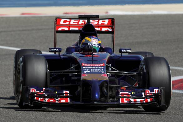 Toro Rosso completed more laps than sister outfit Red Bull
