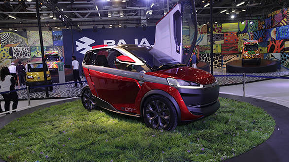 Auto Expo 2014: Bajaj RE60 and U-Car concept images and details