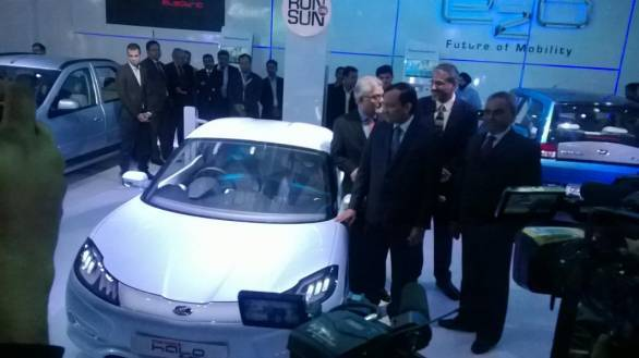 Auto Expo 2014: Mahindra unveils two-seater electric sports car concept