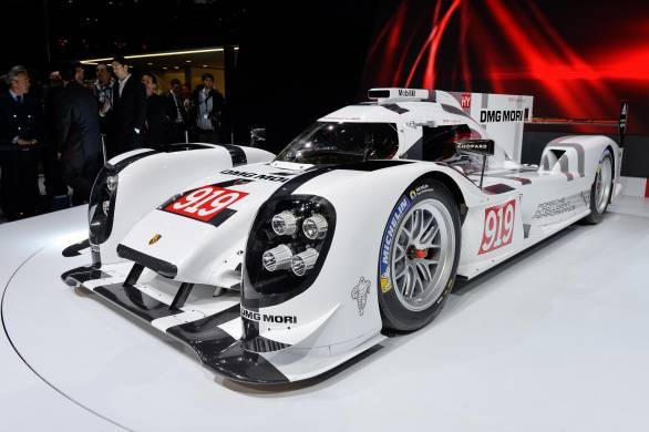 2.0-litre turbocharged V4 petrol engine, with two hybrid systems to boot, power the 919 RSR